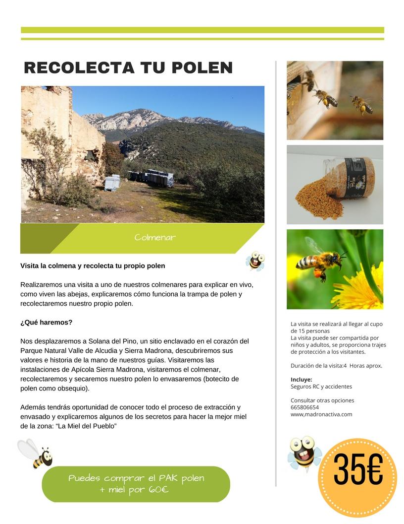 recolec polen