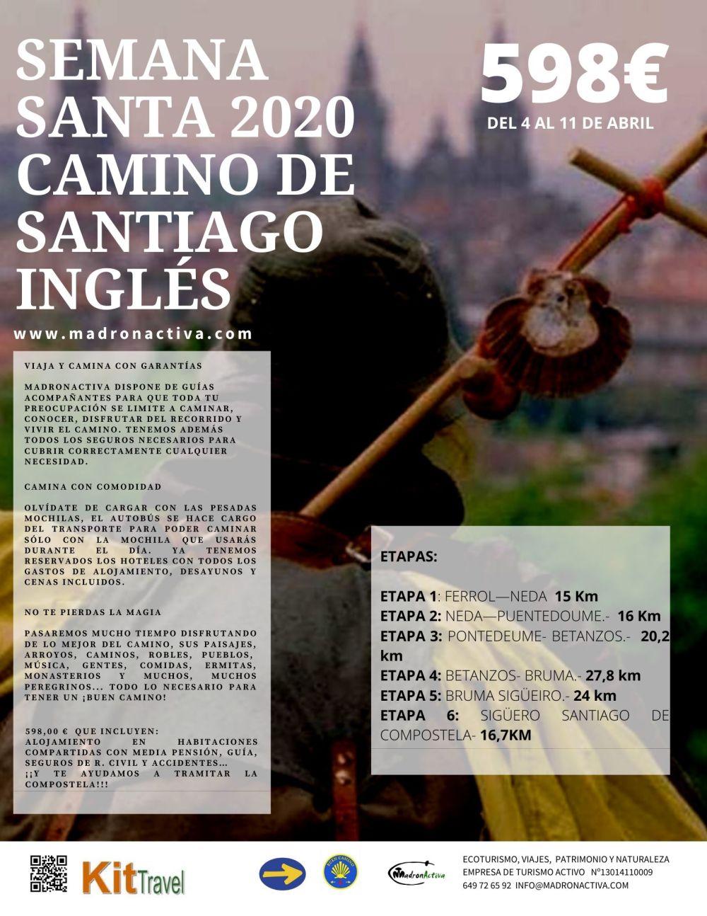 Semana santa Camino de Santiago Inglés